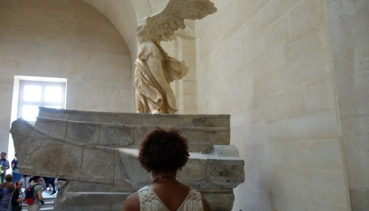 Frau Kolb & Eternity: The Winged Victory of Samothrace
