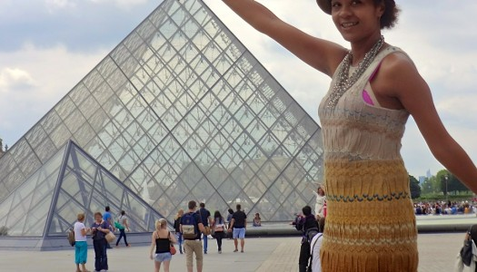 A Step Into The Profound, at The Louvre in Paris, France with Frau Kolb