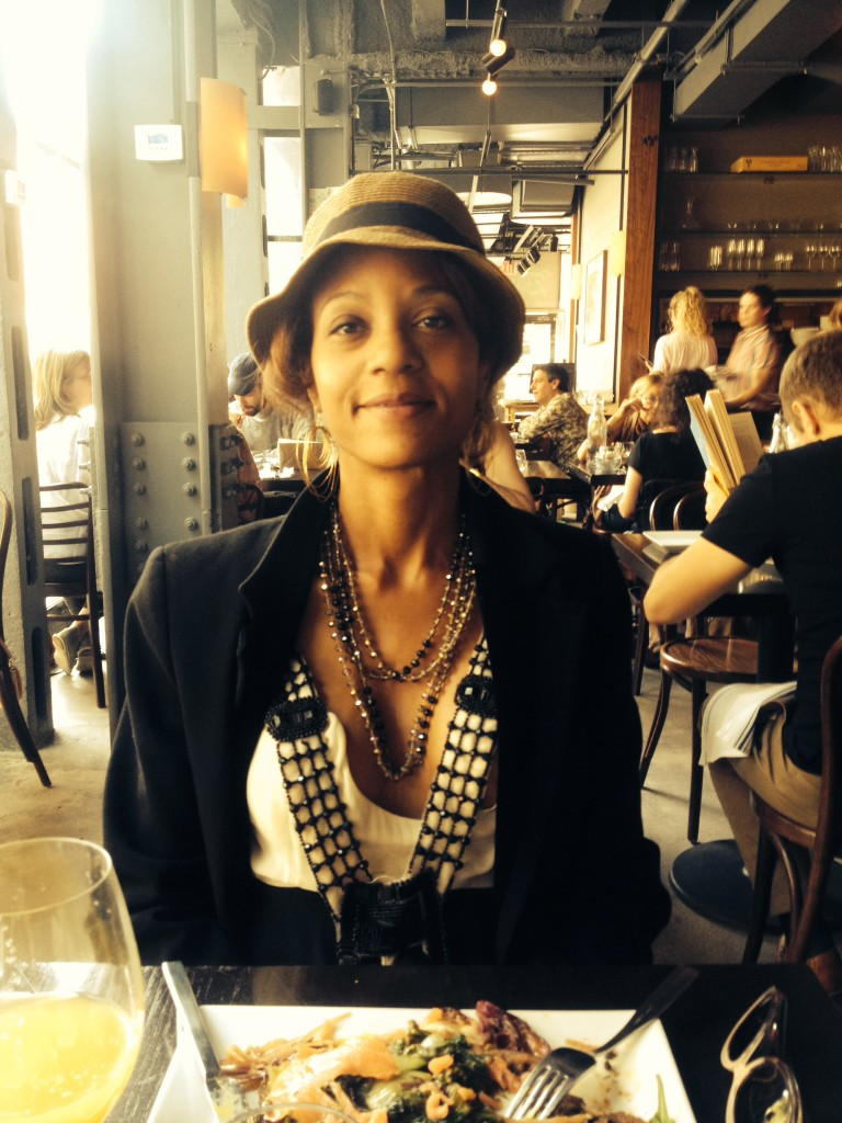At the Forager with lovely young woman, a new friend... more news later.